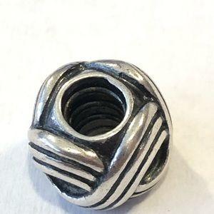 Pandora Sterling Silver BRAID charm